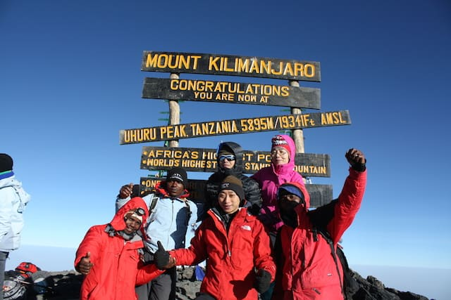 Best route for Kilimanjaro