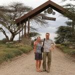 Gate to Serengeti National Park