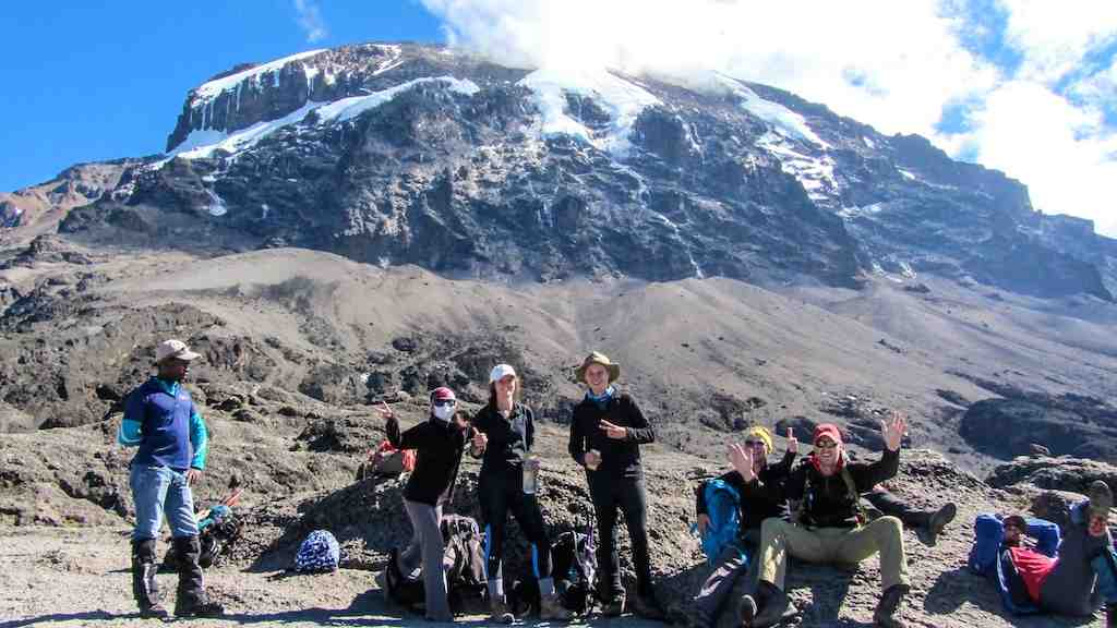 Training to climb Kilimanjaro