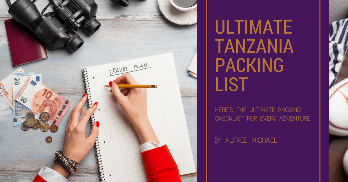 Tanzania Packing List